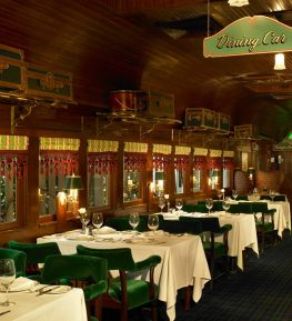 The original Pacific Dining Car