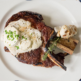 PDC Cowboy Steak with Truffle Butter