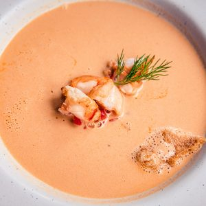 Pacific Dining Car Lobster Bisque